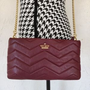 Kate Spade Reese Park leather crossbody